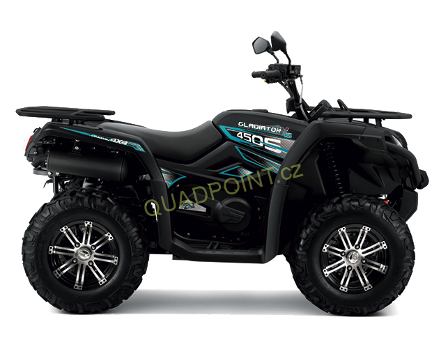 CFMOTO Gladiator X450 black edition