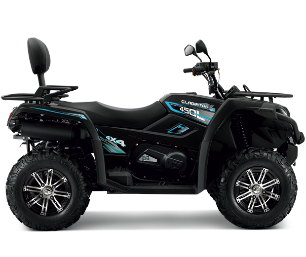 Gladiator X450 black edition
