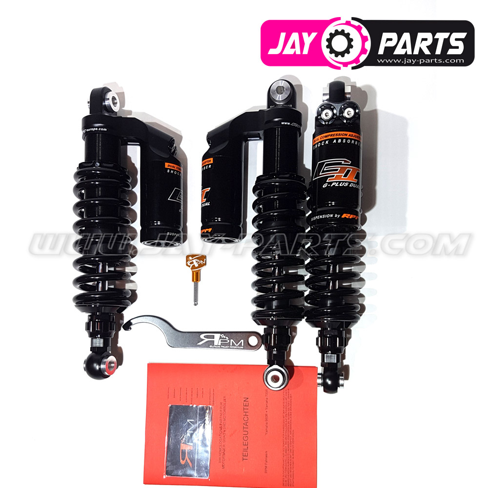 RPM GII G-Plus Dual Suspension - Yamaha YFM 660R & 700R